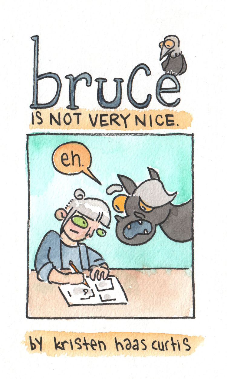 Bruce is Not Very Nice